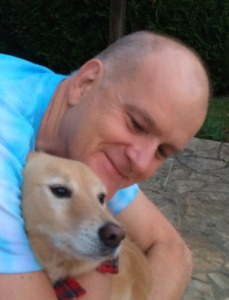 My Story - Peter with dog