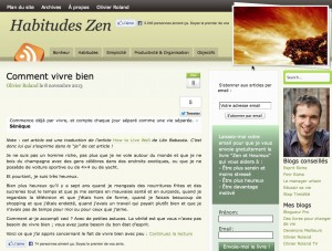 Habitudes Zen Website