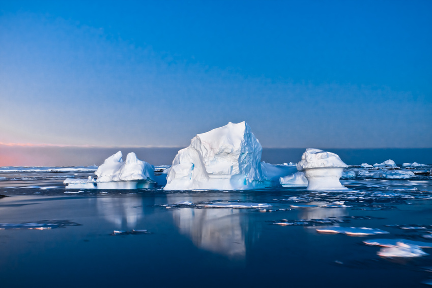 halt global warming - icebergs